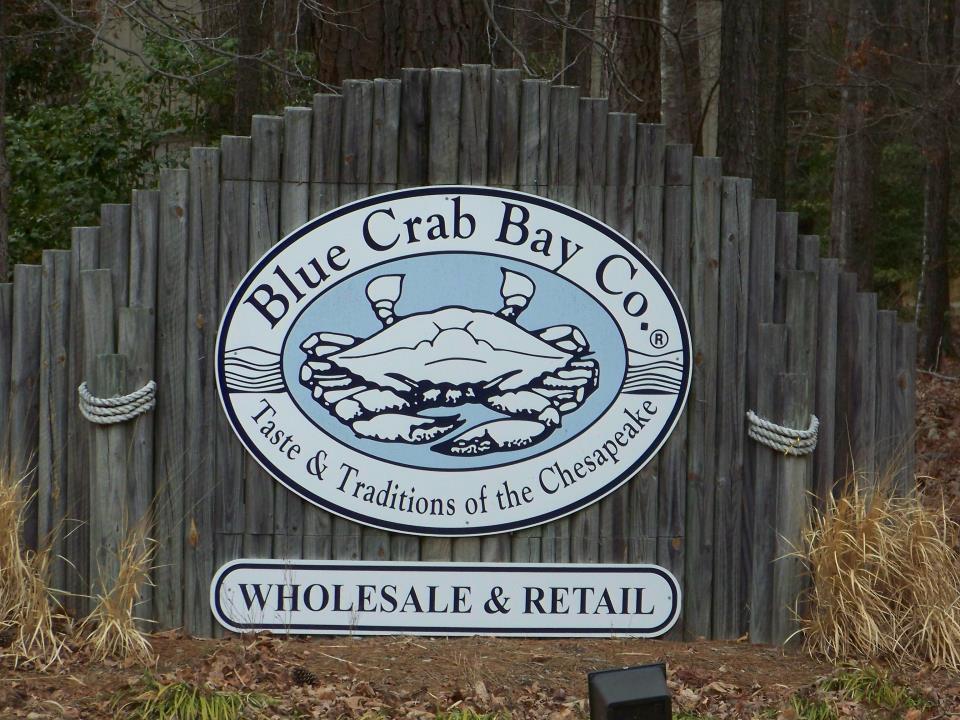 Blue Crab Bay Sign 1