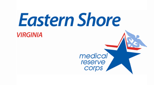 Eastern Shore medical reserve corps logo