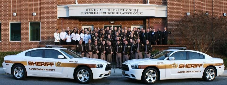 group photo of the Sheriff's Office personnel