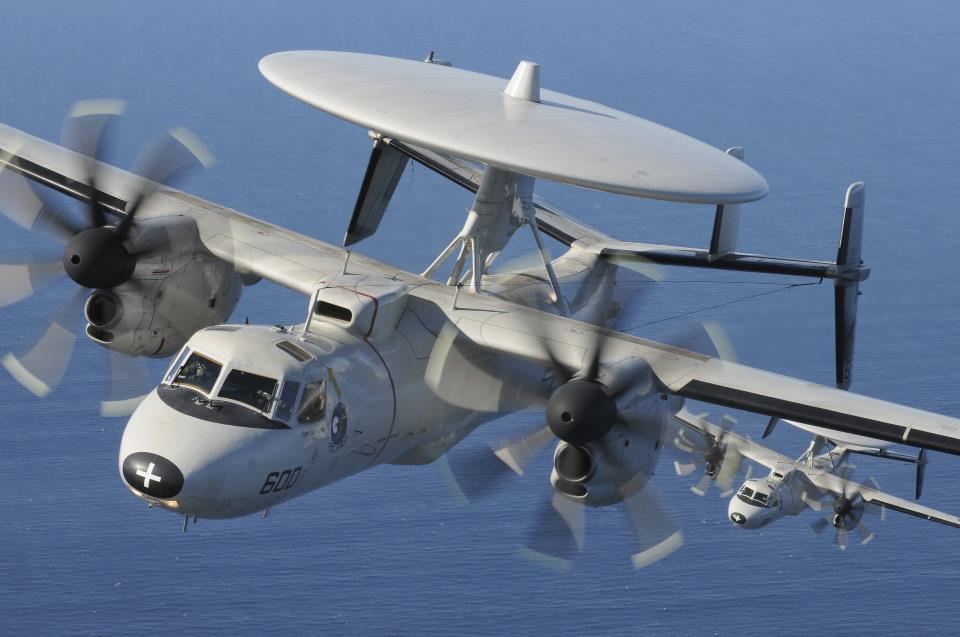E-2C in-flight 22