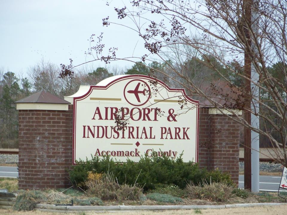 Industrial Park Sign 1